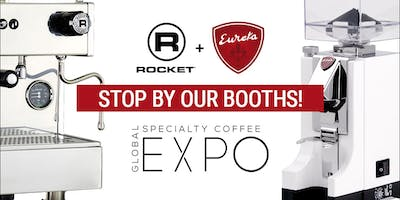 event in Seattle: Come visit Rocket Espresso and Eureka! SCA Expo 2018