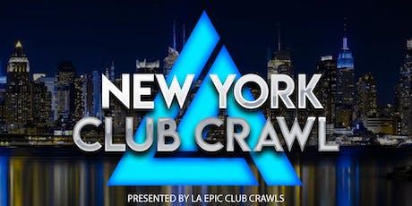New York Club Crawl tickets
