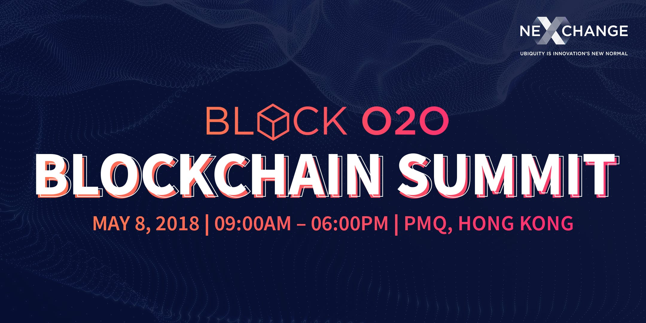 Block O2O Blockchain Summit 2018 (CPT Conside
