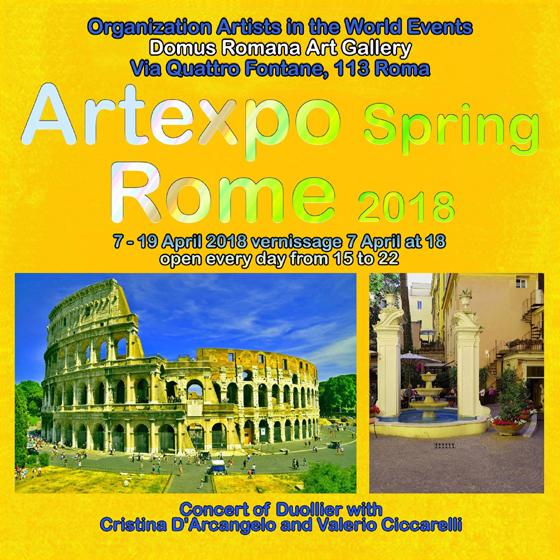 Artexpo Spring Rome 2018