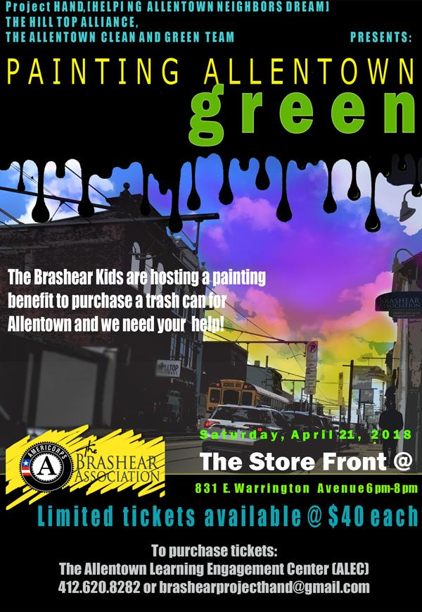 Painting Allentown Green
