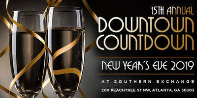 Joonbug.com Presents Downtown Countdown at Southern Exchange at 200 Peachtree New Years Eve 2019
