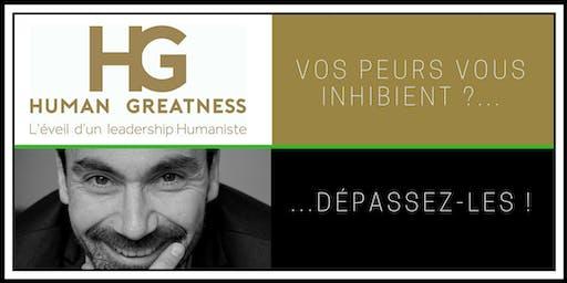 Peur(s) de passer à l'action ? Atelier Leadership par Human Greatness