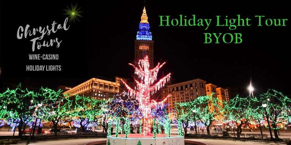 chrystal holiday lights byob limo coach tour cleveland westside tickets multiple dates eventbrite