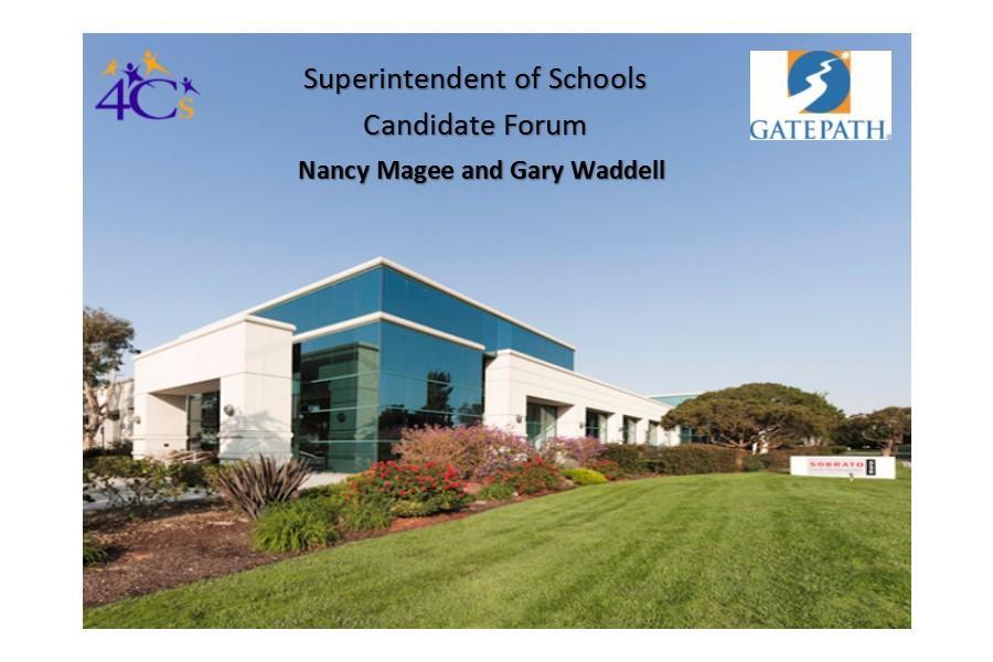 Superintendent of Schools Candidate Forum
