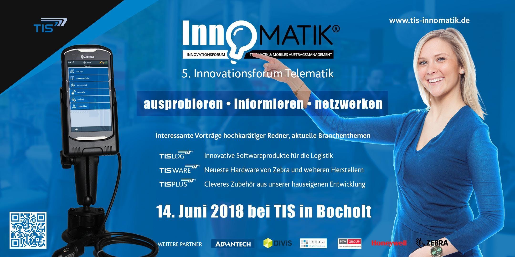 Einladung zur 5. InnoMATIK der TIS GmbH