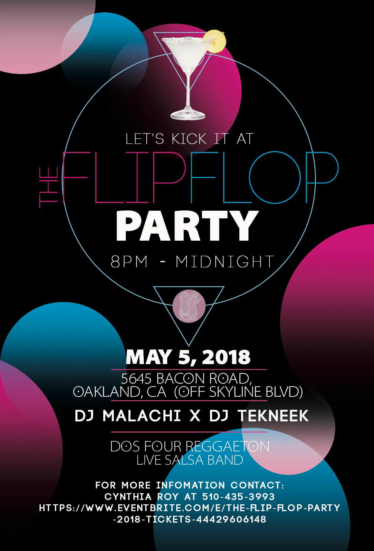 1c47c2cfb3dbfd The Flip Flop Party 2018 - 5 MAY 2018