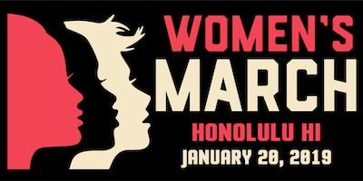 Women's March Honolulu HI 2019