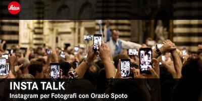 Insta Talk con Orazio Spoto - Leica Store Bologna