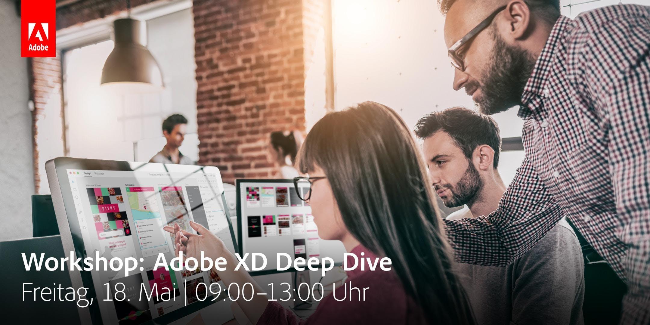 Adobe XD Deep Dive Workshop @ TYPO Berlin