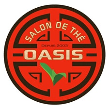 SALON DE THÉ OASIS   THÉs GURU TEAs logo