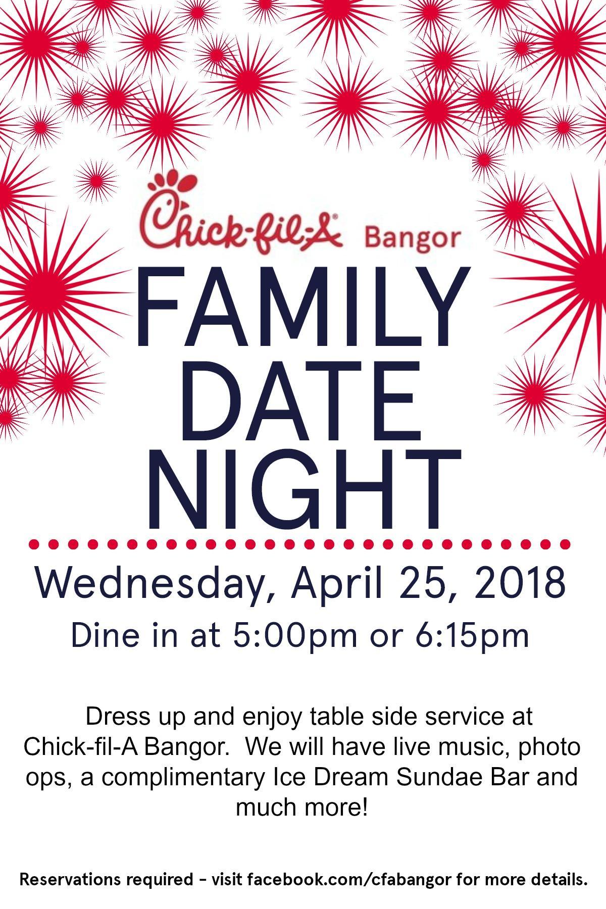 Family Date Night - 25 APR 2018