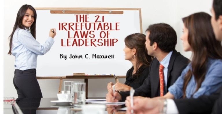 The 21 Irrefutable Laws Of Leadership Bring Your Lunch Learn At