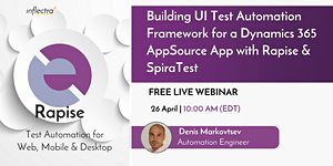 Webinar: Building UI Test Automation Framework for a...