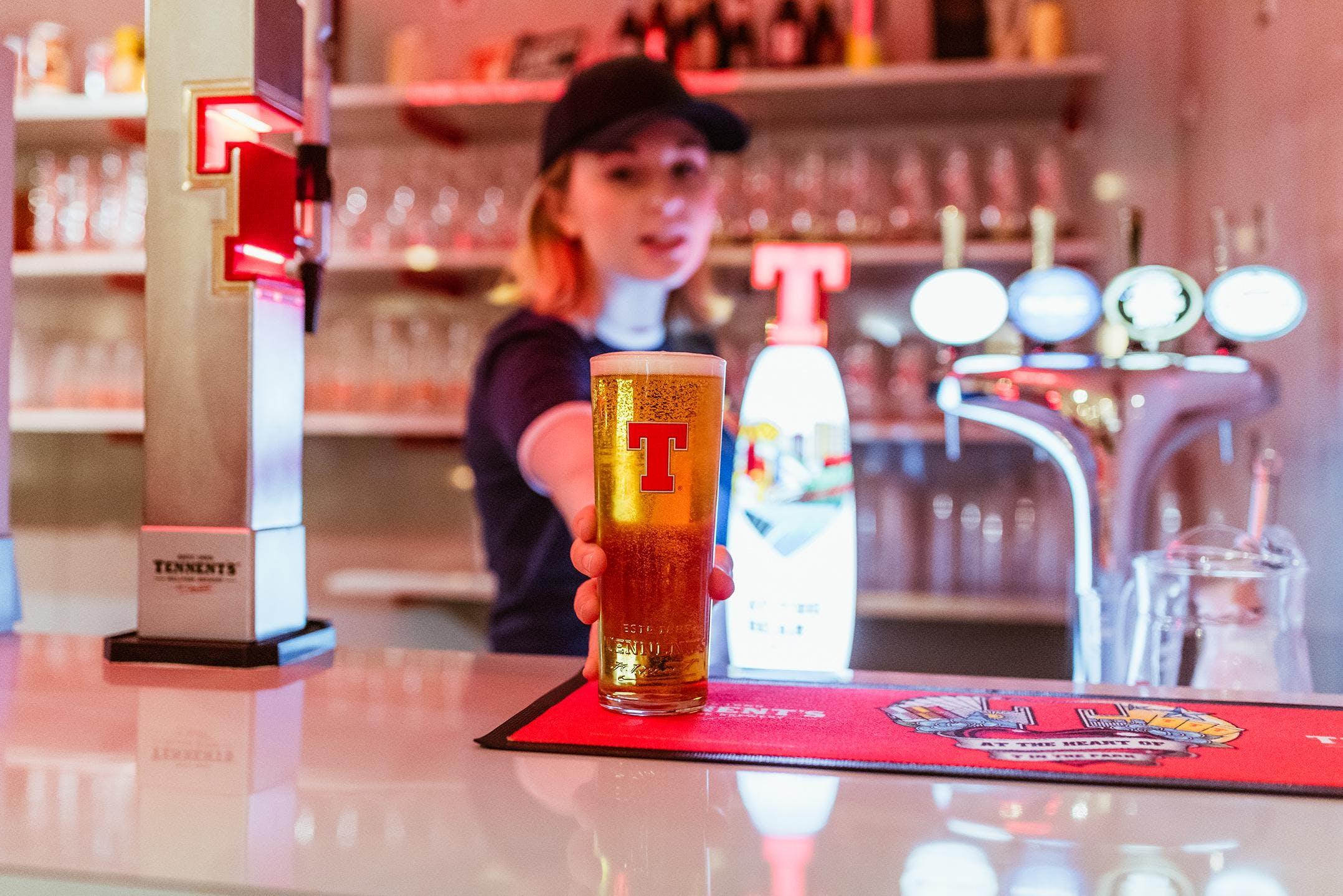 Tennent's Tour & Craft Beer Masterclass
