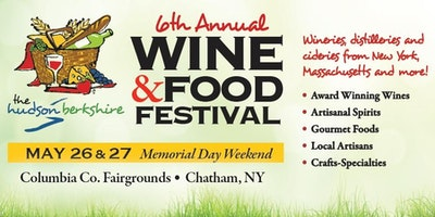 The 6th Annual Hudson Berkshire Wine & Food Festival