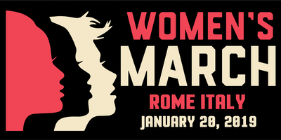 Women's March Rome Italy 2019