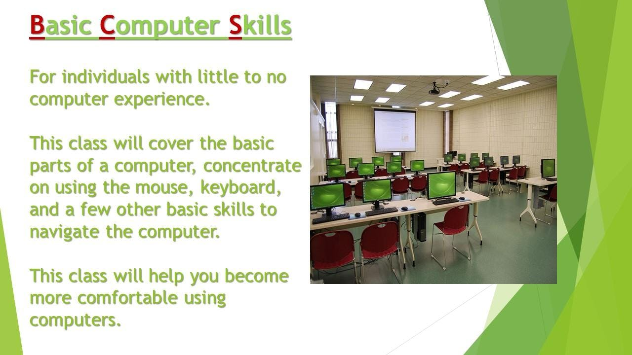 Cyber Seniors Computer Training Course