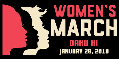 Women's March Oahu HI 2019