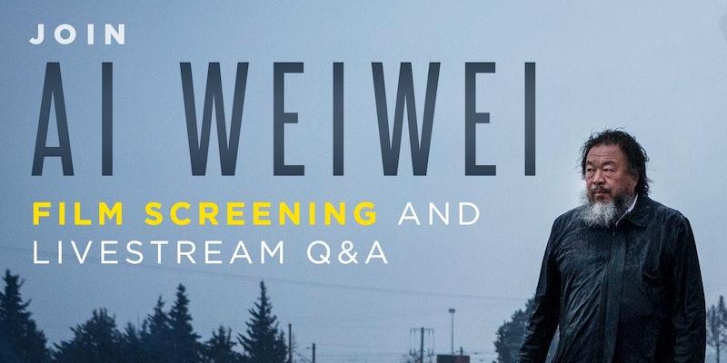 Human Flow: A Livestream Q&A With Ai Weiwei