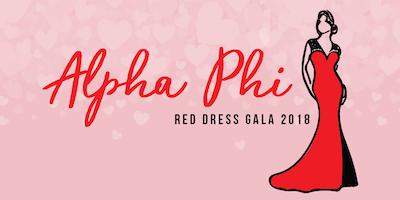 911b74b6b72 Active Alpha Phi Members Red Dress Gala 2018 Tickets - San Luis Obispo