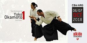 Seminario de Aikido - Yoko Okamoto - Cor/Arg 01
