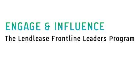 Engage & Influence - Lendlease (Melbourne Quarter) tickets