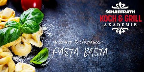 """Gourmet-Kochseminar """"Pasta Basta"""" Tickets"""