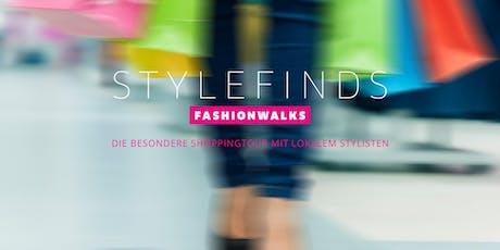STYLEFINDS FASHIONWALKS Shoppingtouren - Entdecke München aus einer neuen (Fashion) Perspektive! Tickets
