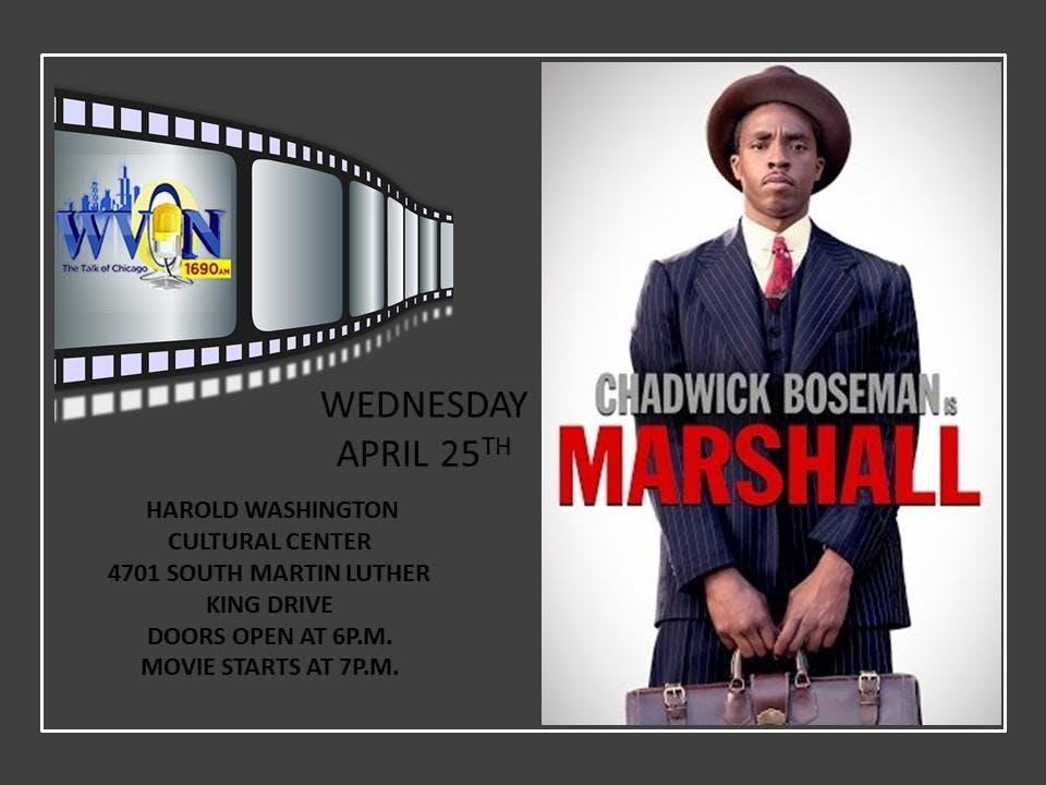 WVON Heritage Film Series: Marshall