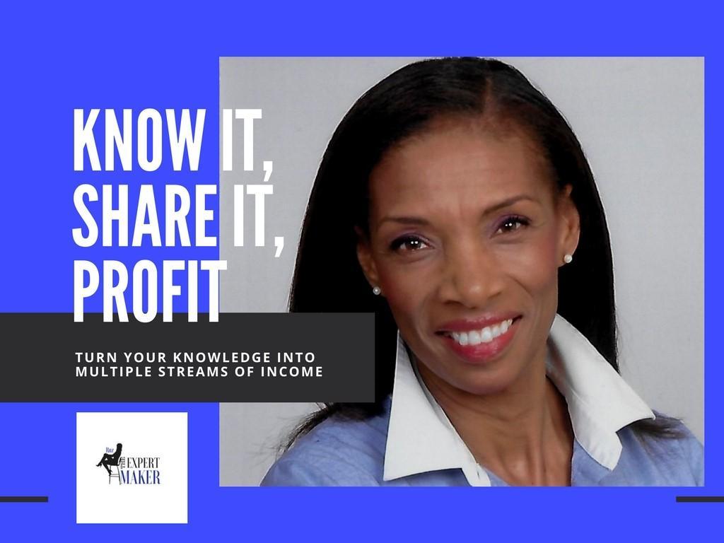 Know It, Share It, Profit!