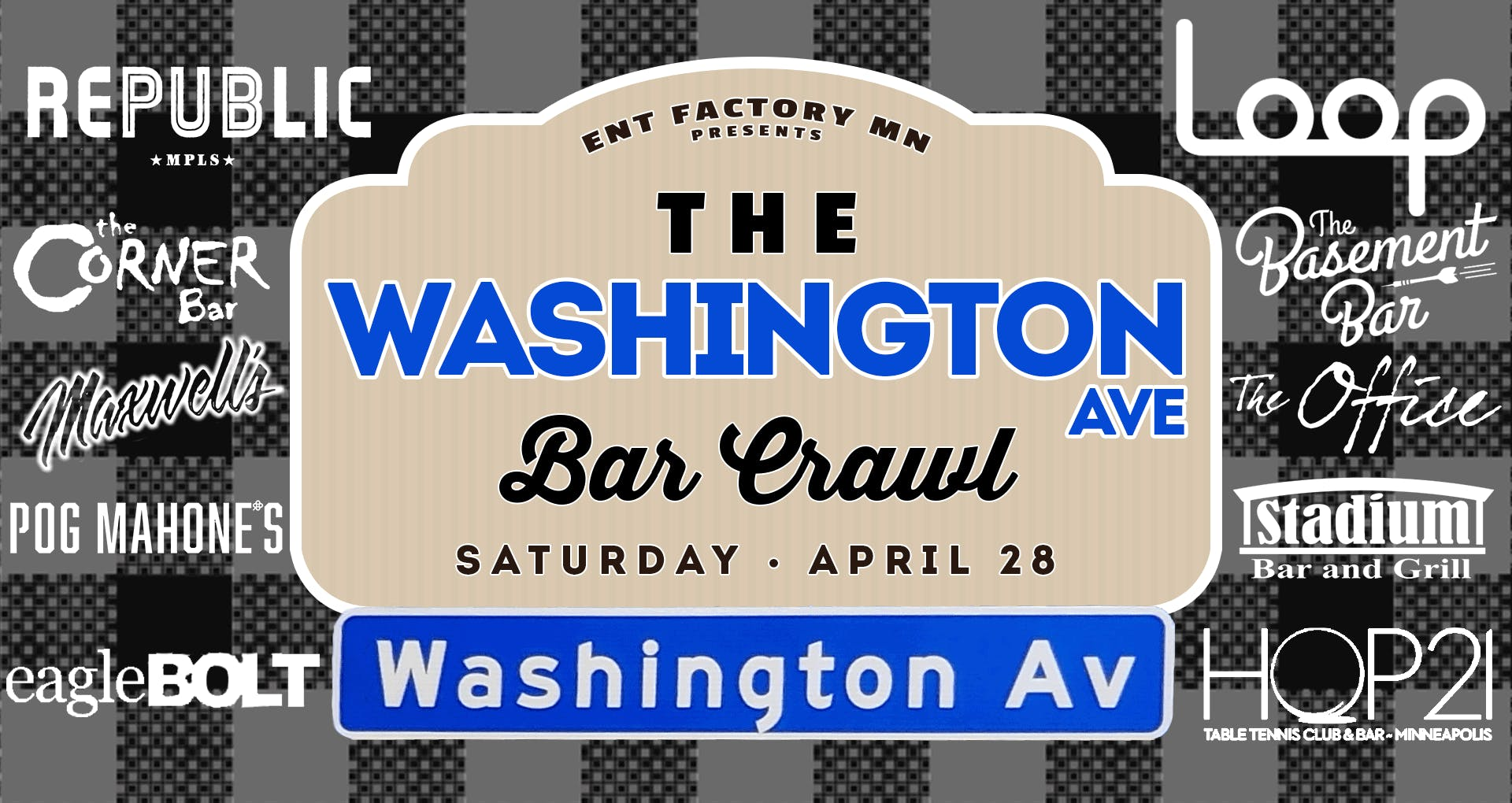 The Washington Ave Bar Crawl