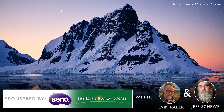 BenQ Creative Masterclass with Luminous Lands