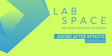 Adobe After Effects Essentials Course Melbourne LS tickets