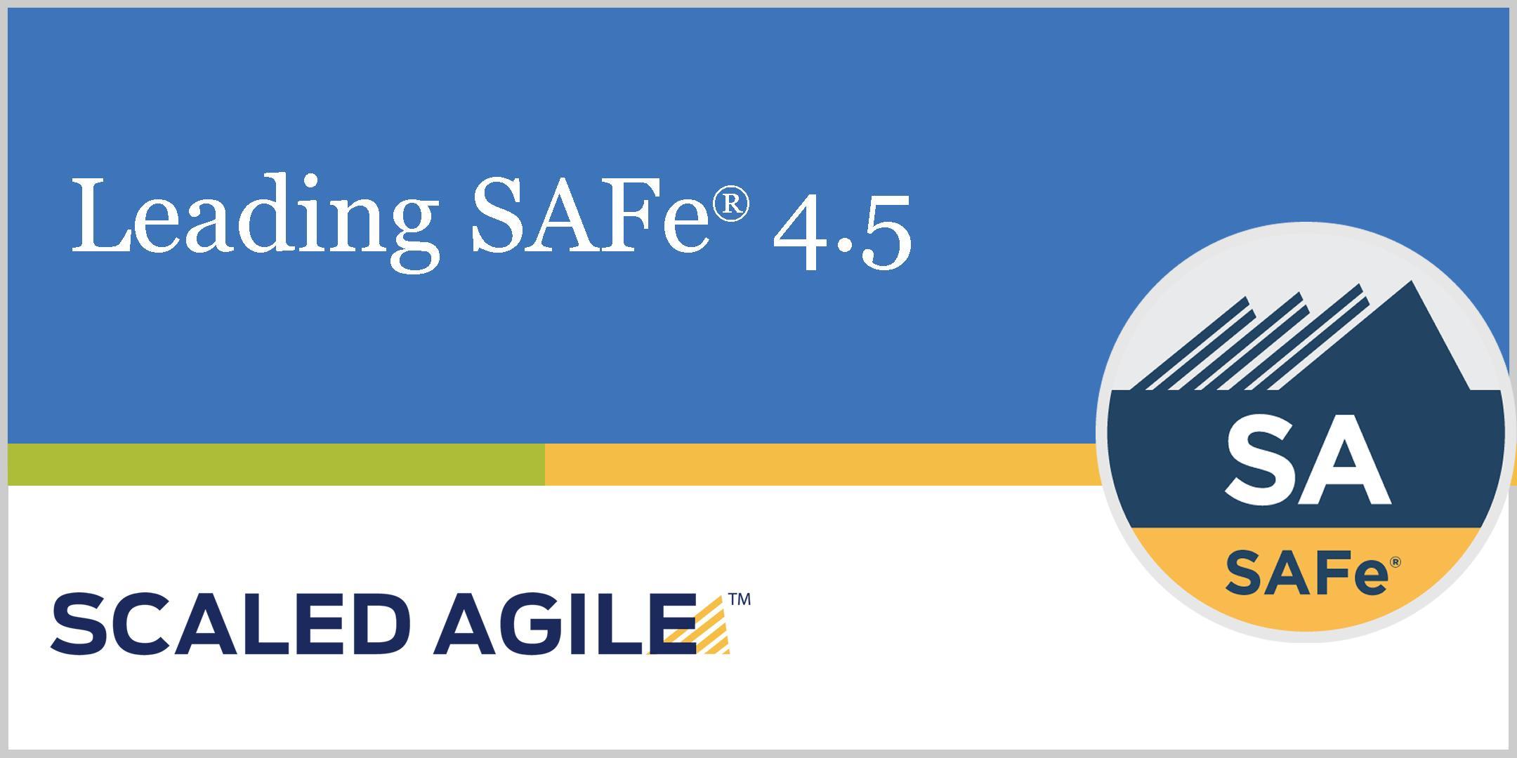 Leading Safe 45 Safe Agilist Certification Dubai 1 Jun 2018