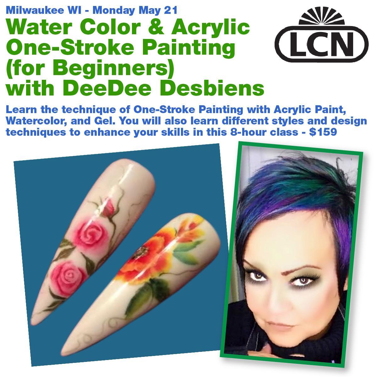 Water Color & Acrylic One Stroke Basics for Beginners w/ DeeDee ...