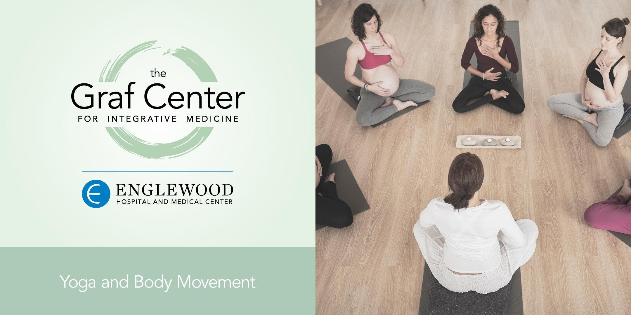 More info: Prenatal Yoga and Meditation