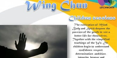 Wing Chun childrens sessions