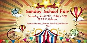 2018 Sunday School Fair