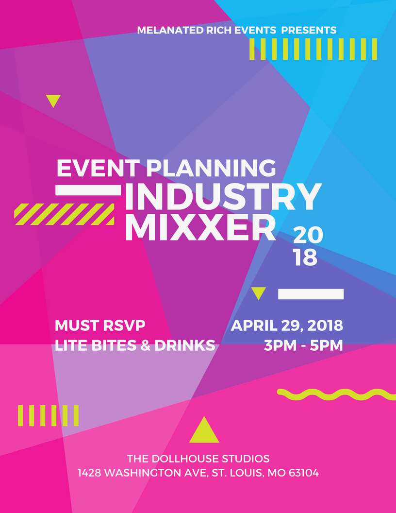 Event Planning Industry Mixxer 29 Apr 2018