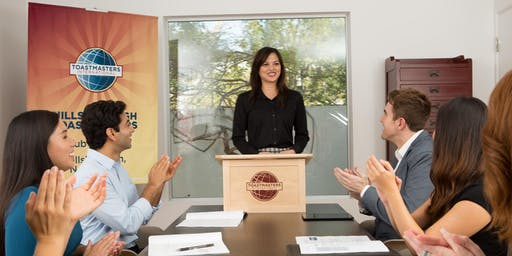Improve Your Public Speaking: Global Speakers Toastmasters (Guest Welcome!)