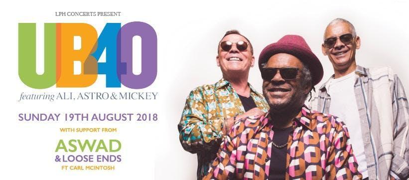 UB40 Featuring Ali, Astro & Mickey Live at Ca