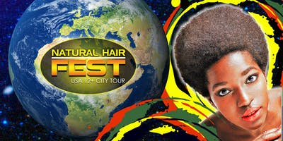 NATURAL HAIR FEST USA 12+ CITY TOUR