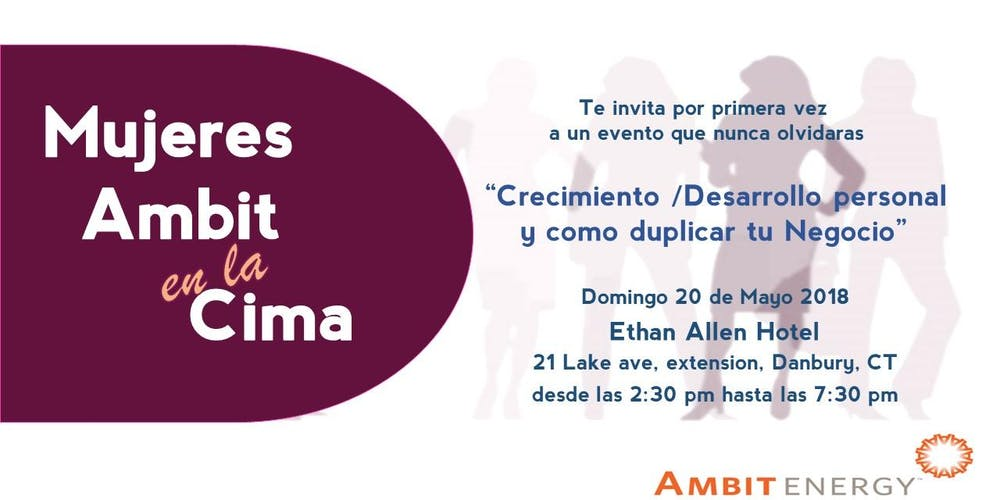 Ambit Mujeres en la Cima (test) Tickets, Sun, May 20, 2018 at 2:30 PM |  Eventbrite