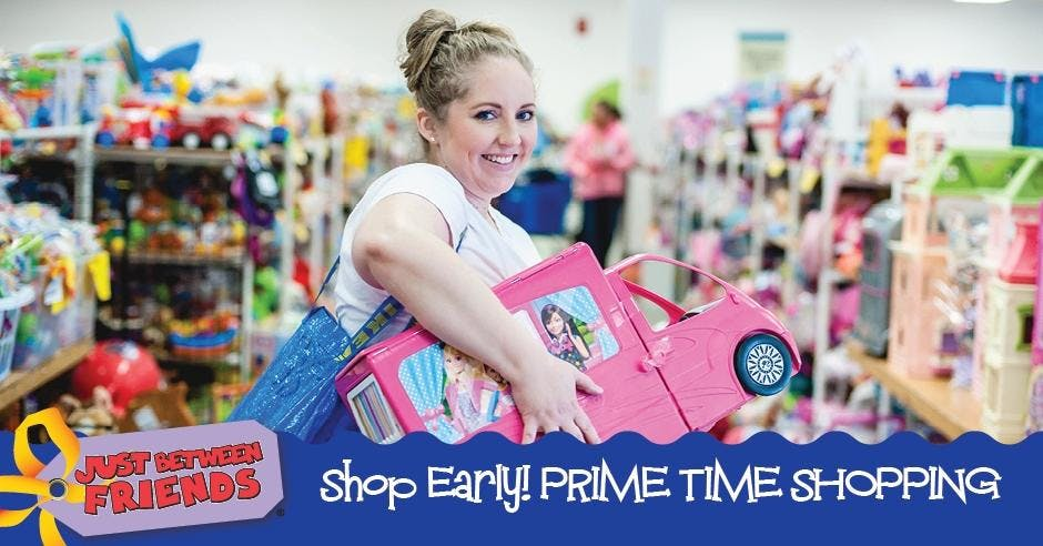 PRIME TIME SHOPPING - Shop Early Discount Tic