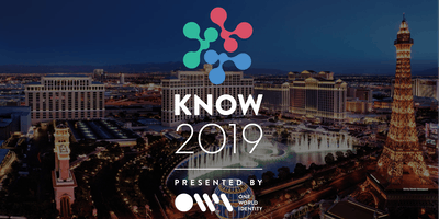 KNOW 2019 Vegas