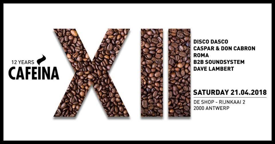 12 Years Cafeina