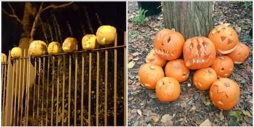 Volunteer session - with Free Halloween Pumpkin Carving - St Pauls Park - Islington - Sunday noon