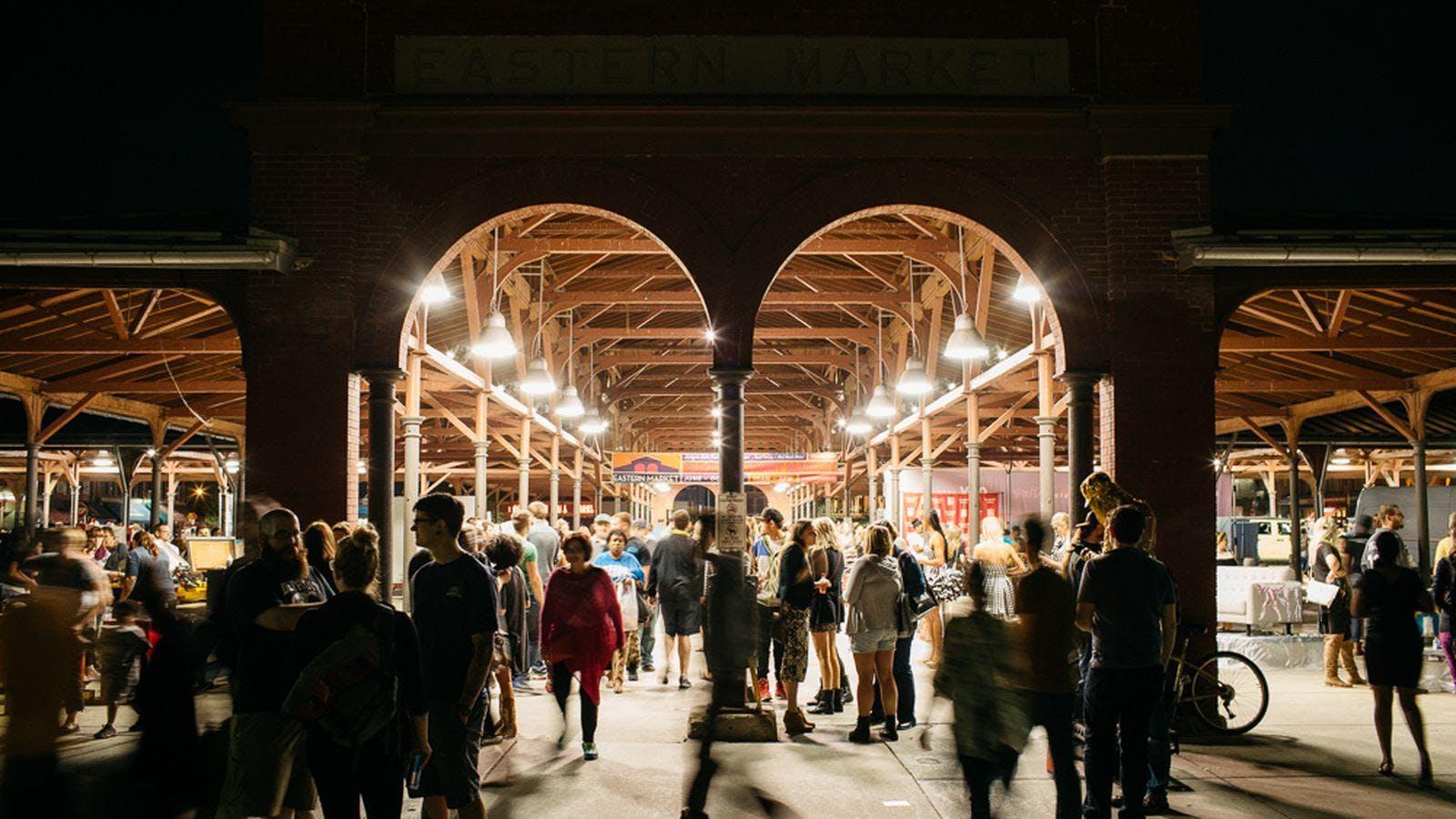 Eastern Market at Night Walking Tour