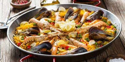 Spanish Paella de Marisco and Tapas Cooking Class at the Farm New Paltz